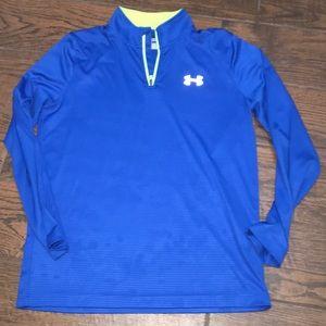 Quarter zip UA heat guard pullover